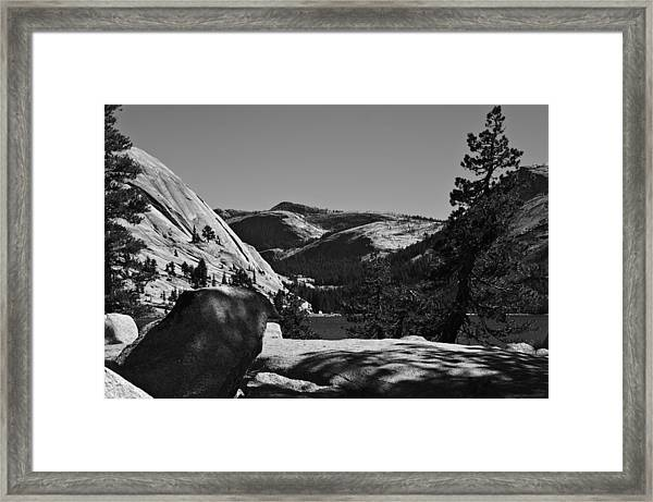 Tenaya Lake In Yosemite Framed Print