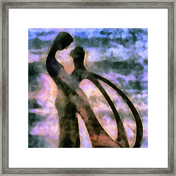 Tender Are The Words They Choose Framed Print