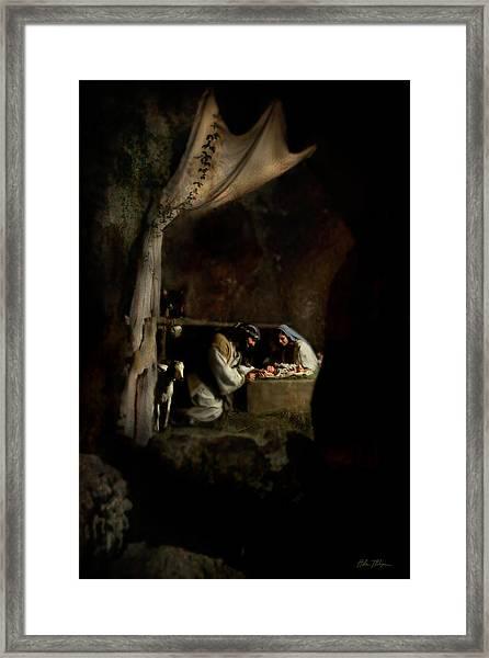Tender Moments Framed Print