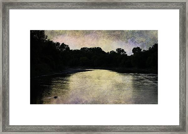 Tender Sundown Framed Print