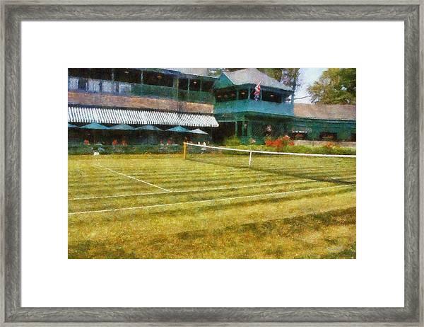 Tennis Hall Of Fame - Newport Rhode Island Framed Print