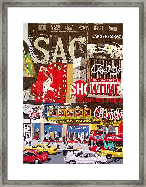 Tenth And K Framed Print by Paul Guyer