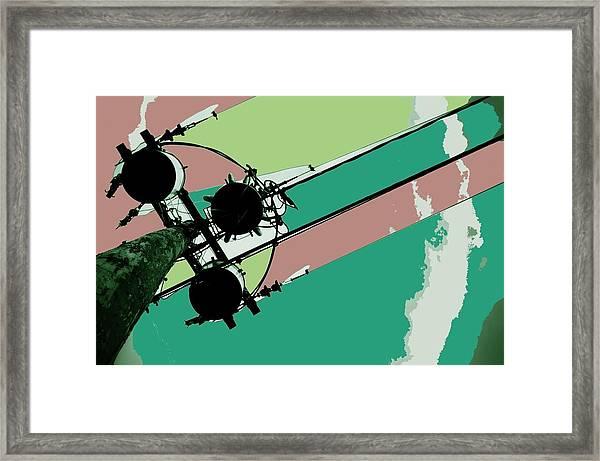 Ternary Juicing Framed Print