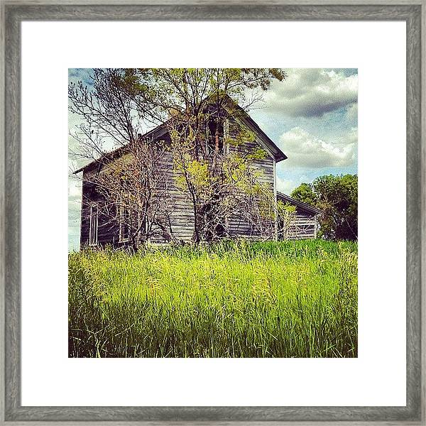 Test Of Time Framed Print
