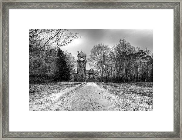 Testimonial Gateway Tower Framed Print