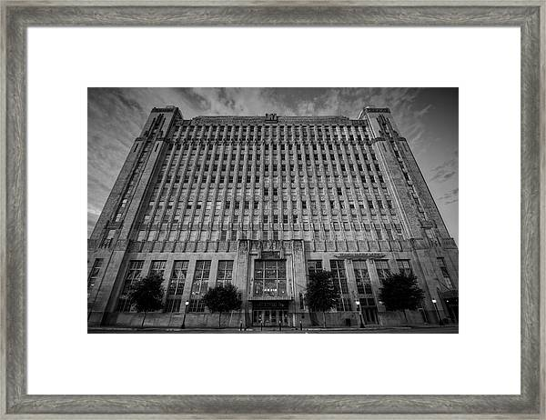 Texas And Pacific Lofts Framed Print