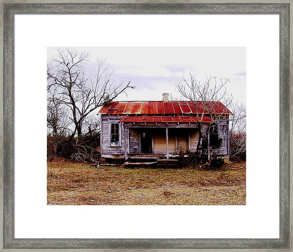 Texas Duplex Framed Print