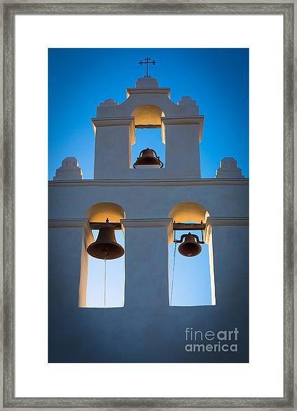 Texas Mission Framed Print
