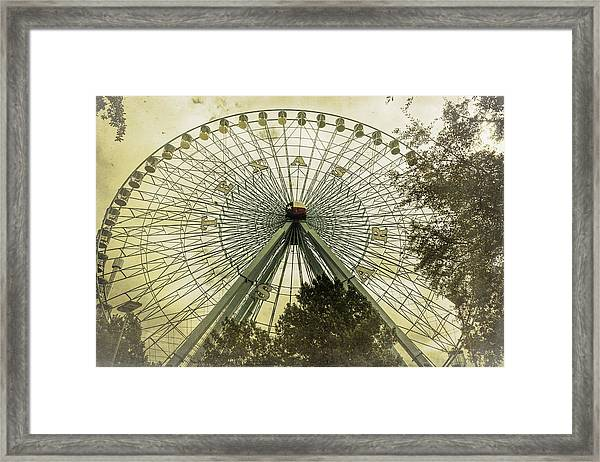 Texas Star Old Fashioned Fun Framed Print