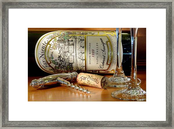 Timing Is Everything Framed Print