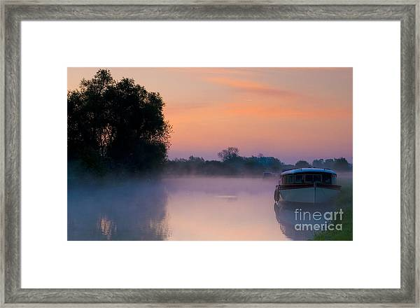 River Thames At Dawn  Framed Print
