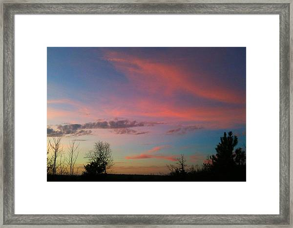 Thankful For The Day Framed Print