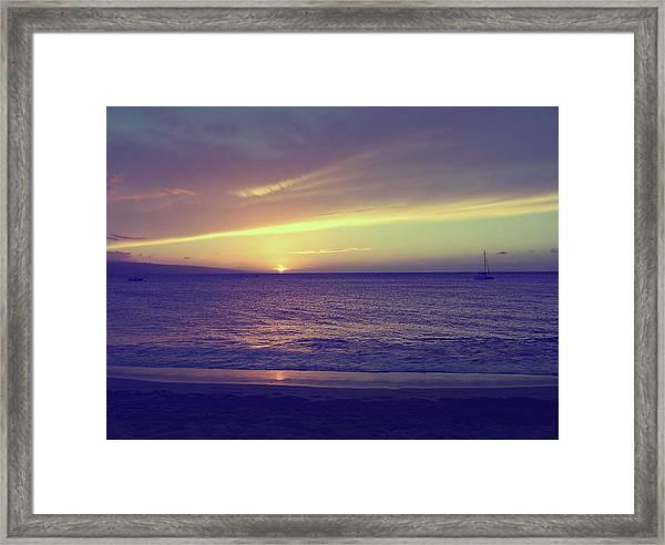 That Peaceful Feeling Framed Print