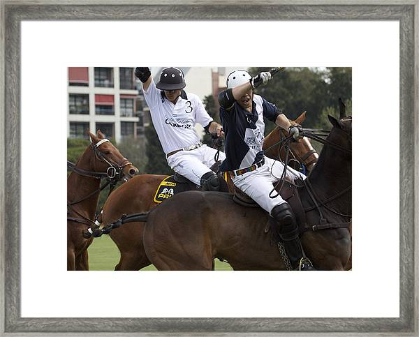 Polo In Argentina Thats My Shot Framed Print