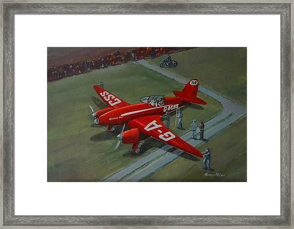 The Great Air Race Framed Print