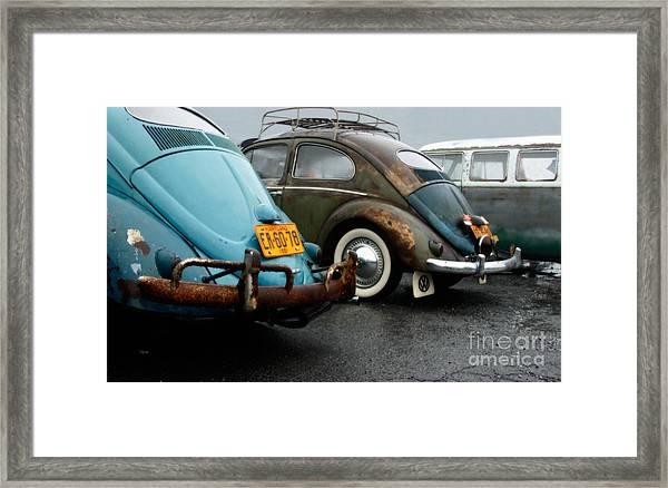 The 1955s Framed Print by Steven Digman