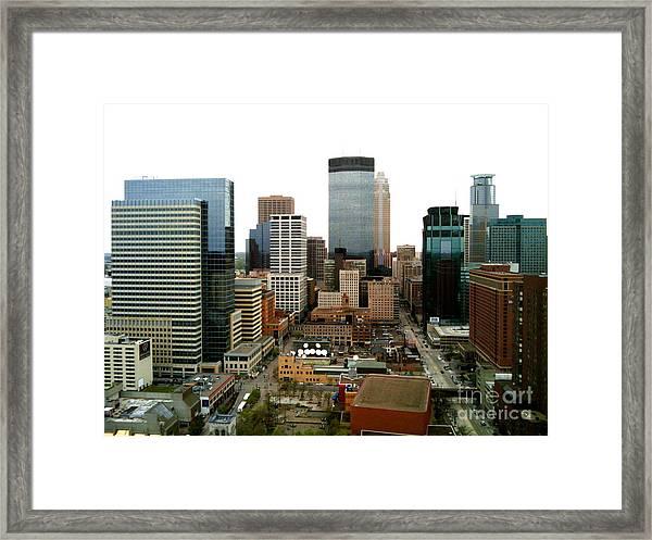 The 35th Floor Framed Print
