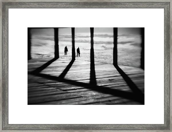 The Add Dimension Framed Print
