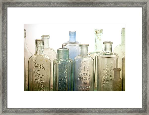 The Ages Reflected In Glass Framed Print