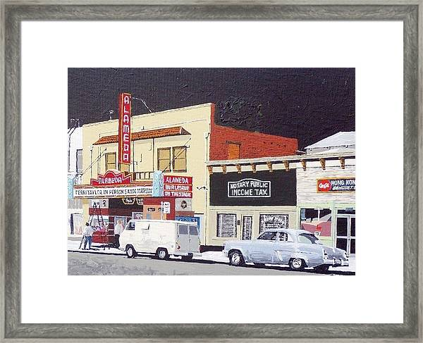 The Alameda Framed Print by Paul Guyer