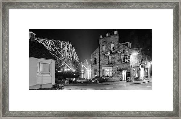 The Albert Hotel Framed Print