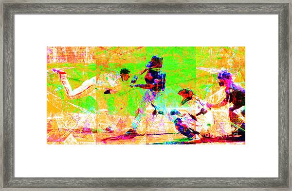 The All American Pastime 20140501 Long Framed Print