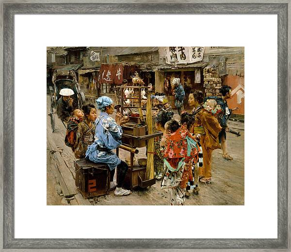Framed Print featuring the painting The Ameya by Robert Frederick Blum