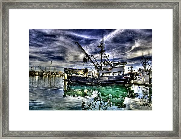 Framed Print featuring the photograph The Anthony G by William Havle