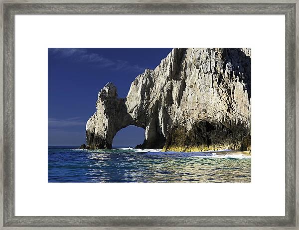 The Arch Cabo San Lucas Framed Print