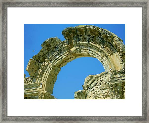 The Arch Of Diana Framed Print