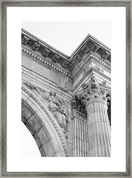 The Art In Stone Framed Print
