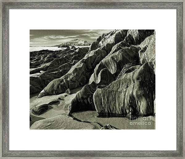 The Art Of Time Framed Print
