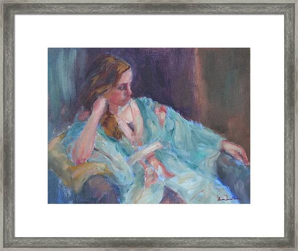 Inner Light - Original Impressionist Painting Framed Print