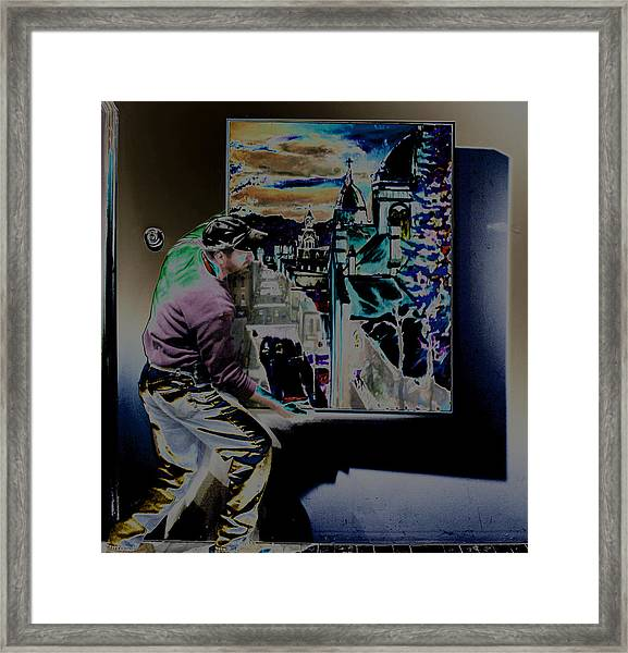 The Artist Paul Emory Framed Print