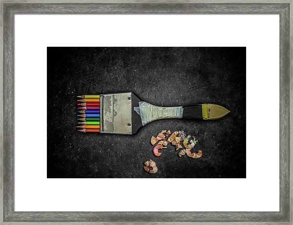 The Artist Tools Framed Print