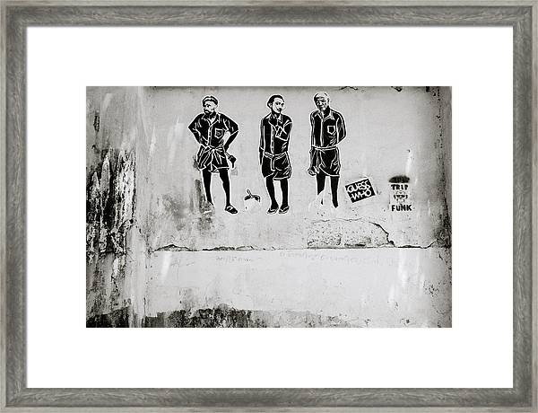 The Trio  Framed Print