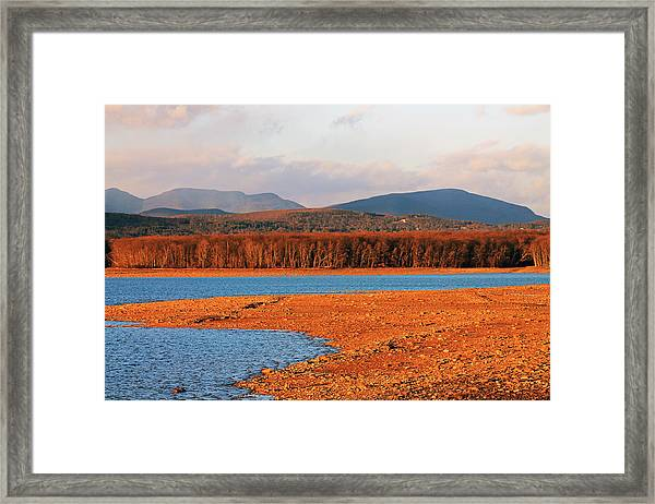 The Ashokan Reservoir Framed Print
