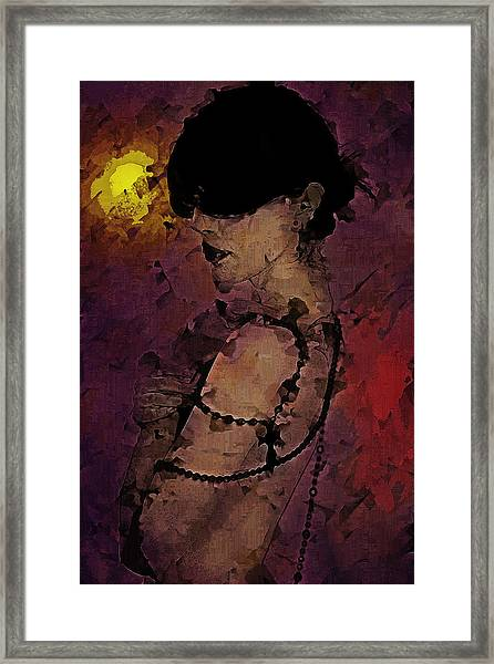 The Attrition Of Nothing  Framed Print