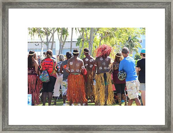 Framed Print featuring the photograph The Audience by Debbie Cundy