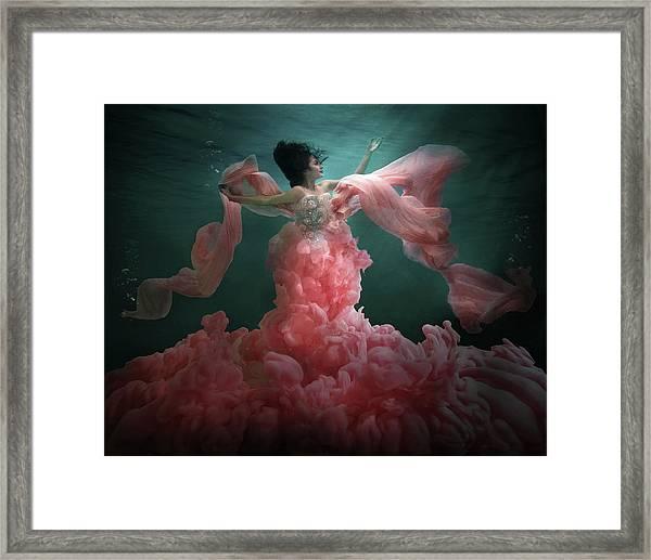 The Awakening Of Flora Framed Print