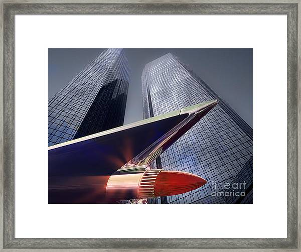 The Bank Framed Print
