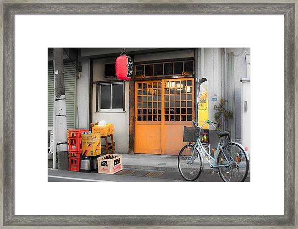 The Bar Framed Print by Ryan Routt