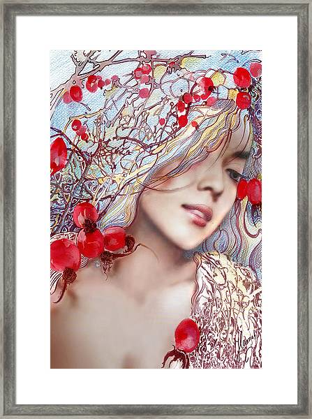 The Barberry Framed Print