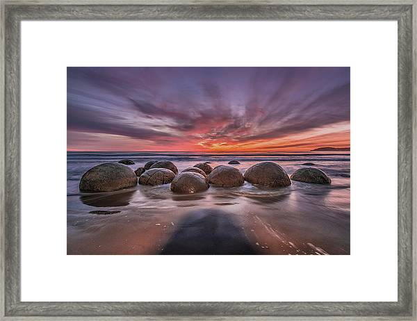 The Barrier Framed Print by Andreas Agazzi