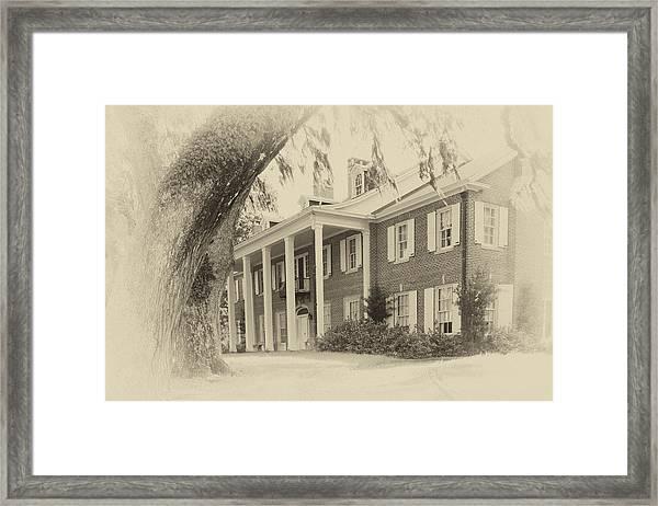 The Baruch House Framed Print