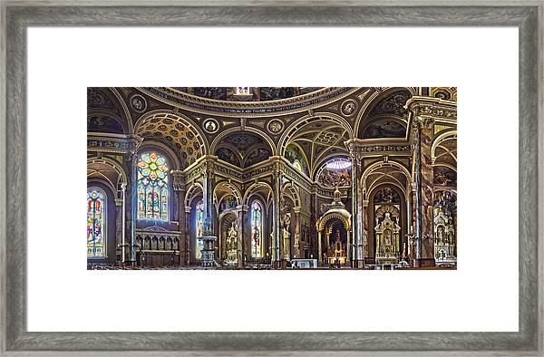 The Basilica Of St. Josaphat Framed Print