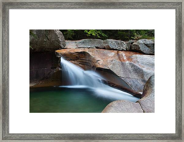 The Basin Framed Print