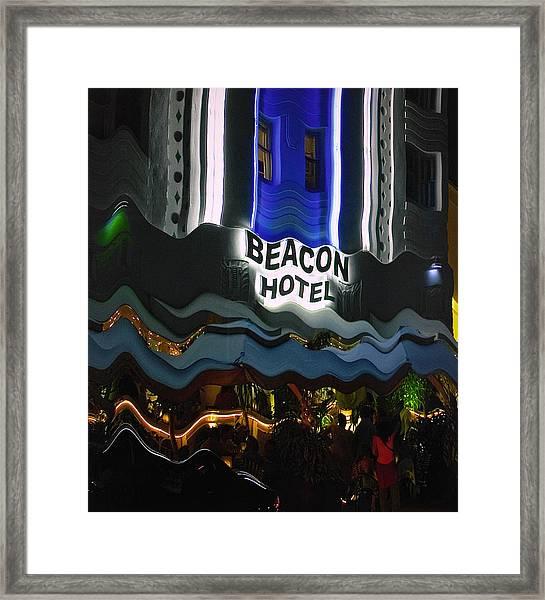 The Beacon Hotel Framed Print
