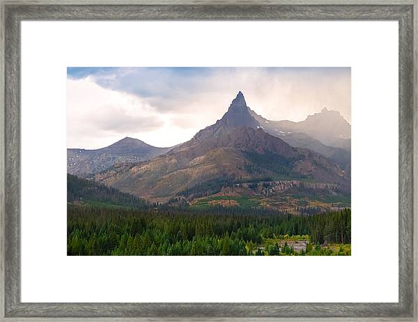 The Beartooth Mountains   Framed Print