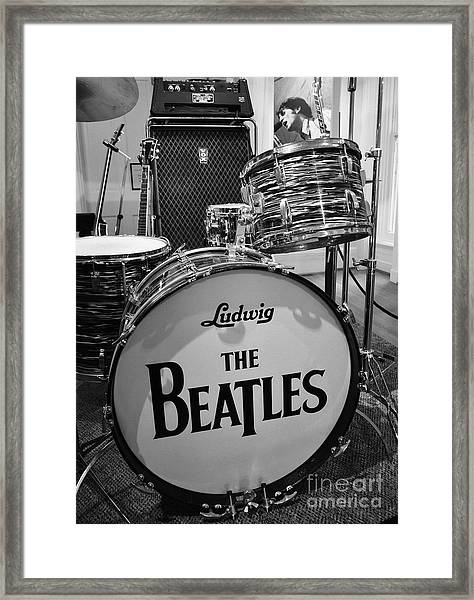 Framed Print featuring the photograph The Beat Goes On by Mel Steinhauer